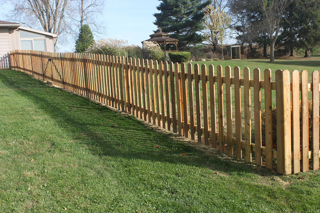 Picket Fence Installation Knoxville Tn Knoxville Fence Pros